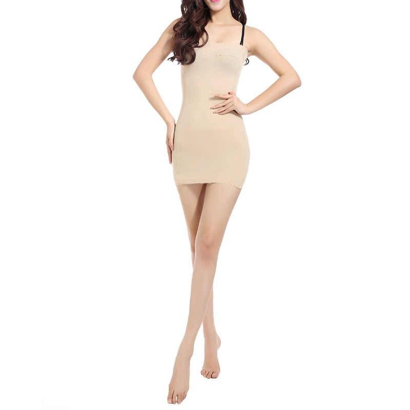 5d26ce16c831b ... Sexy Women Body Slip Shaper Seamless Slimming Tube Shapewear Strapless  Dress