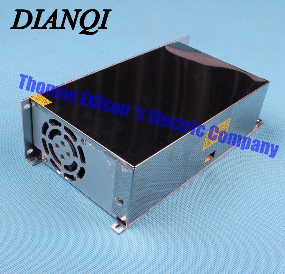 500W 12V 40A Single Output Switching power supply for LED Driver Adjustable input 110v 220v Transformer