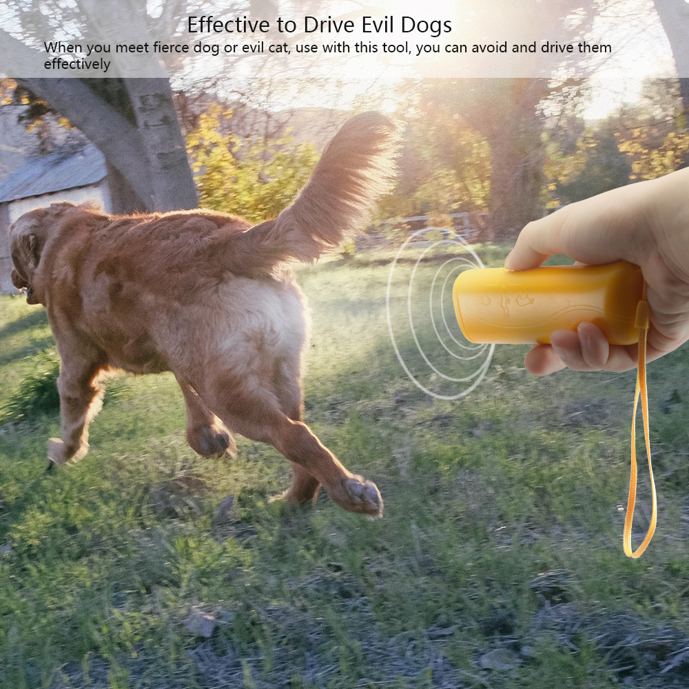 Solar Powered Outdoor Ultrasonic Dog Mouse Bird Repellent Animal Driving With LED Light Flashing Pest Control