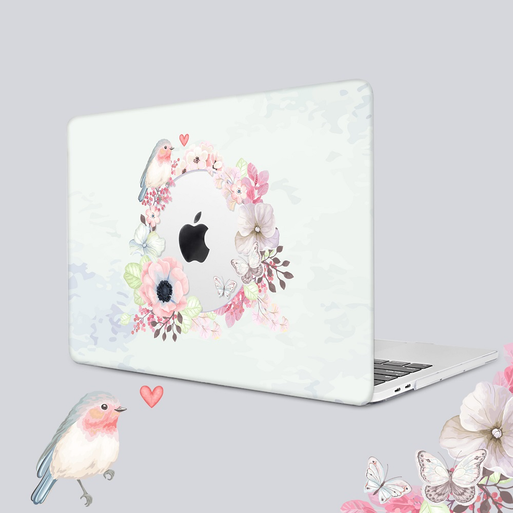 Floral Printing Hard Case for MacBook 120