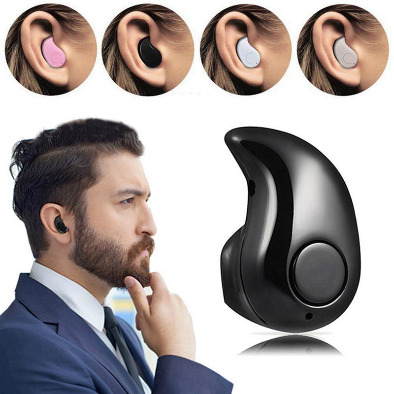 S530 Mini Wireless Bluetooth 4.1 Stereo Sports Headset Earphone Handfree Earbuds MIC Earphone Headsets Headphone for iPhone