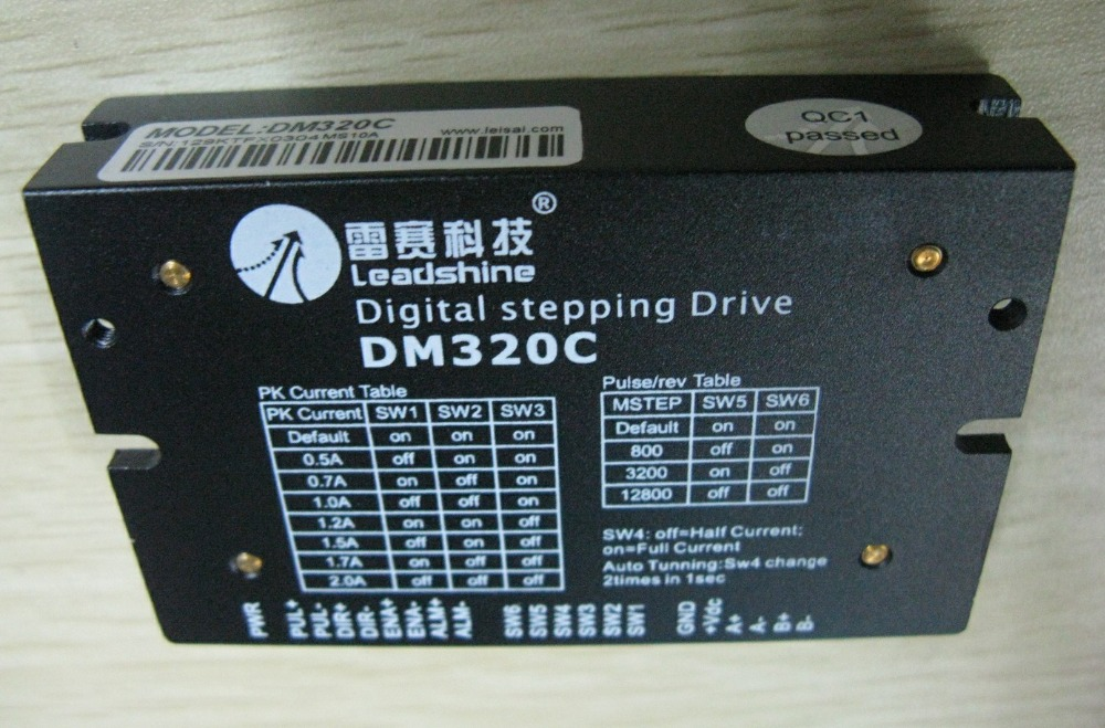 Leadshine Digital Stepper Drive DM320C 2 Phase Digital Stepper Drive; Max 30 VDC and 2.0A майка классическая printio штурмовик dark side