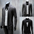 2014 New Spring All-match Elegant Fashion Trend Cardigan Mens Sweaters Slim fit Casual Outerwear Man Clothing M-XXL