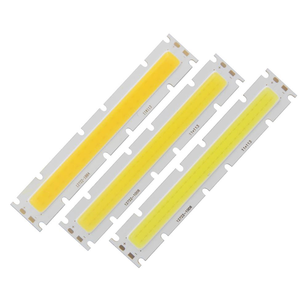 Купить с кэшбэком big promotion allcob OEM ODM LED COB Strip High Power Light Source 127mm*22mm COB Module 20W 30W 40W lamp for outdoor Downlight