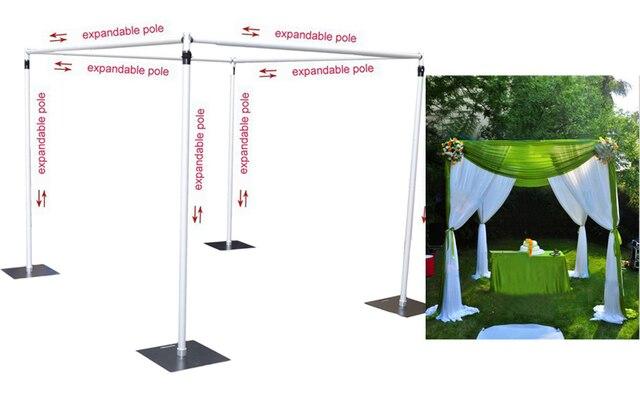 Wedding decoration wedding square pipe canopy/chuppah/arbor pipe wedding drape stand  sc 1 st  Aliexpress & Wedding decoration wedding square pipe canopy/chuppah/arbor pipe ...