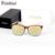 Sunlasses FEISHINI HD Tienda Contadores de Alta Calidad FRESCA Hombres Espejo 2017 LENTES Del Marco + Combinación clip de gafas de sol feminino