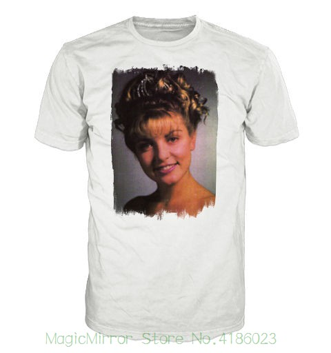 Laura Palmer T-shirt. Inspired By The Cult Tv Series Twin Peaks New Fashion For Men Short Sleeve