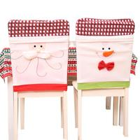 Christmas Decorations Santa Claus Chair Cover Christmas Decoration For Home Party Dinner Table Seats Cover Home