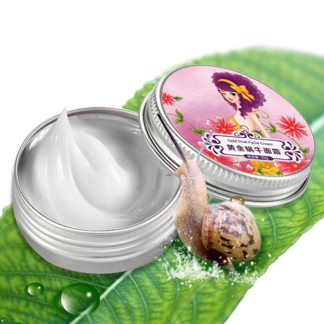 AFY dorado crema de Caracol hidratante Anti arrugas blanqueamiento cara de Caracol crema de día cuidado de la cara 30g