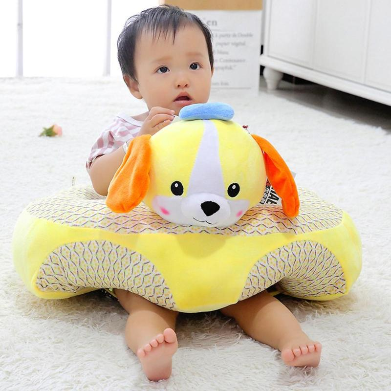 Soft Plush Sitting Chair Support Learning To Sit Toys Birthday Gift Delicate Feel No Hair Loss No Color Loss For Children