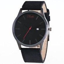 Ybotti relojes hombres lujo marca completa de acero inoxidable cuarzo de los hombres vestido relojes de pulsera impermeable retro hombre de negocios