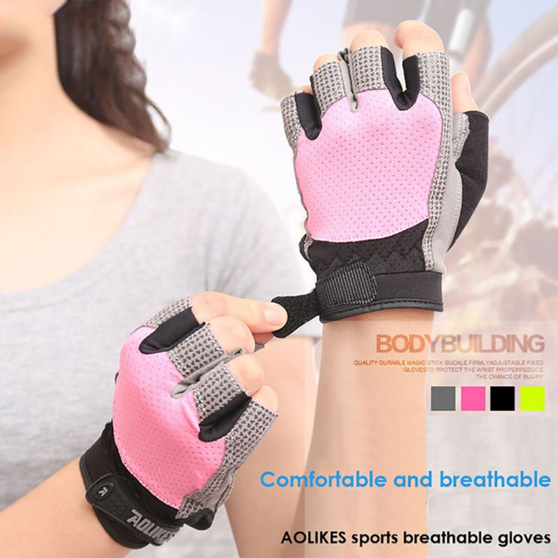 Men Women Custom Fitness Exercise Building Training Sports Fitness Weight Lifting Gloves Training Gym Gloves Body 2018 New