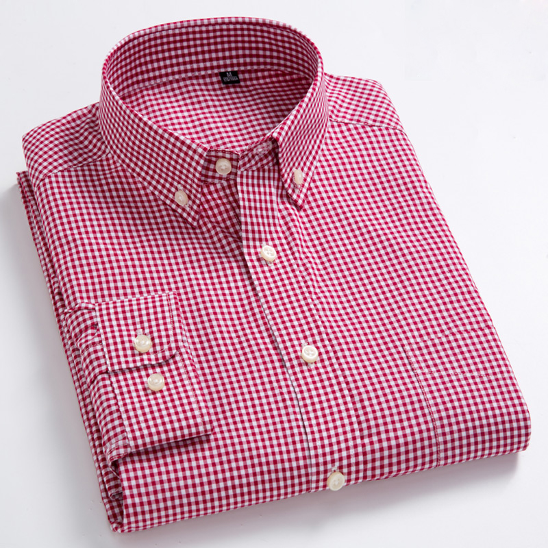 Men's Standard-Fit Long-Sleeve  Shirt