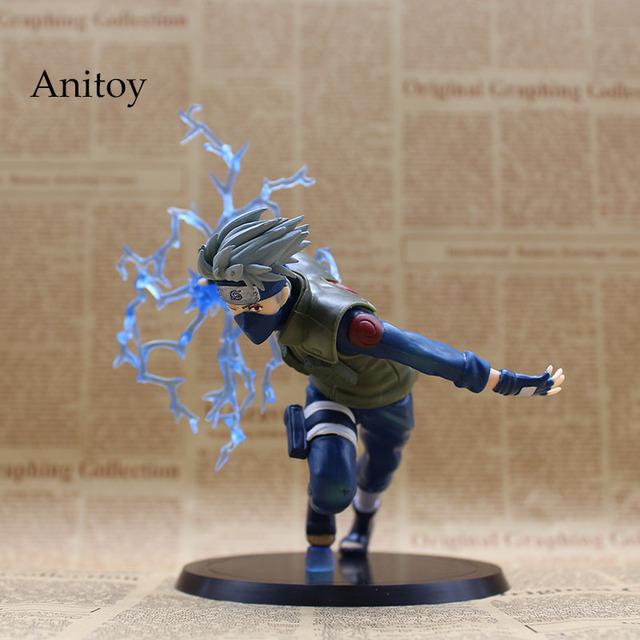 Anime Naruto Nara Shikamaru Hatake Kakashi PVC Figure Collectible Model Toy
