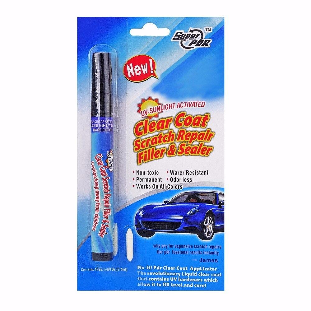 2pcs Auto Tools Clear Coat Scratch Repair Filler Sealer Painting Pen Magic  Permanent Water Resistant Scratch Pen Ferramentas-in Hand Tool Sets from