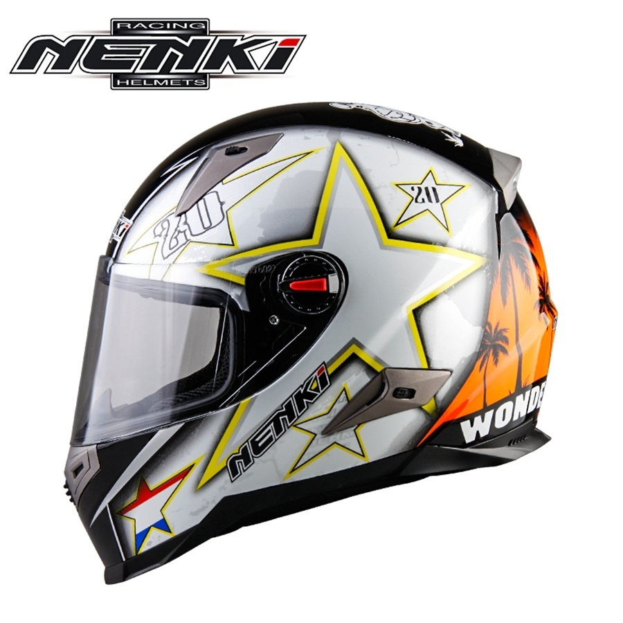 Free shipping 1pcs NENKI 2018 HOT Modular Flip Up Front Motocross Helmet Suit Road Bike Motorcycle Helmet With ECE Certification free shipping motorcycle front