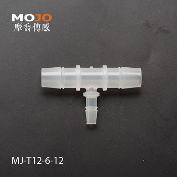 2020 Free shipping! MJ-T12-6-12  Reducing  multiple hose connector 12mm to 6mm (100pcs/lots)