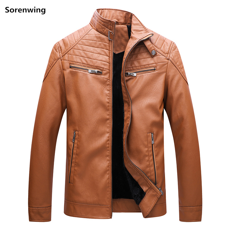 brown Hombre 121 Vestes Cuir blue D'hiver Black Mâle Moto Hommes Faux Manteau En Nouvelle Mode Taille Cuero Qualité Veste Plus Bonne De Casaca La zgxnRnIq6
