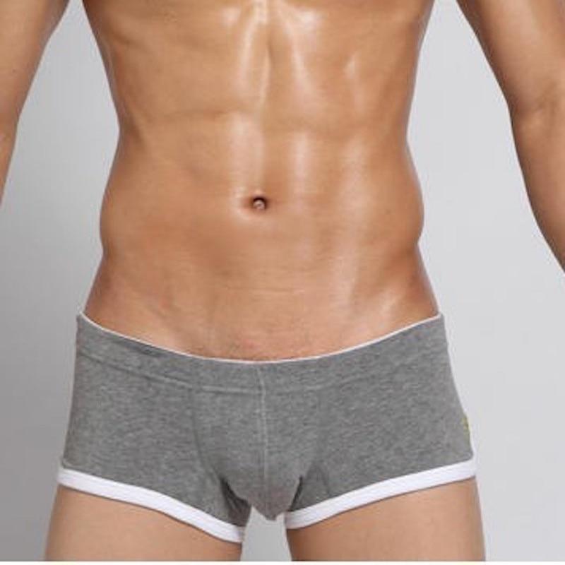 Seeban mens underwear sexy desliza hombre macio masculino íntima tronco de algodão calson homme pijama calcinha confortável jockstrap lingerie