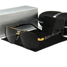 цена на Sunglasses Men Polarized Driving Coating Sun Glasses For Men Luxury Brand Designer Pilot Sunglasses UV400 gafas de sol hombre