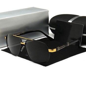 Sunglasses Men Polarized Driving Coating Sun Glasses For Luxury Brand Designer Pilot UV400 gafas de sol hombre