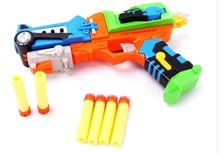 The deformation of soft bullet gun Children's toy gun gun fire safe to soft chuck soft shot boy soft bullet gun