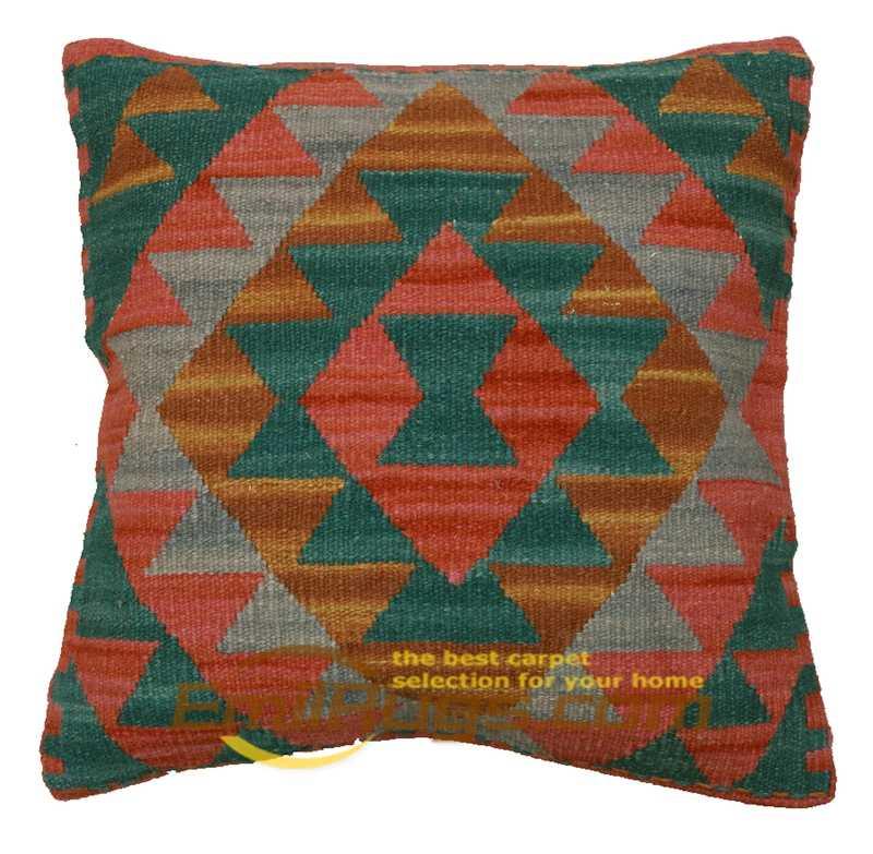 โซฟาที่นั่งตกแต่งทางเรขาคณิต kilim handmade cusions Pure การตรวจสอบครอบคลุม Australian wool home decor หมอน cases15-10gc131y8