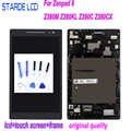 STARDE LCD ل Asus ZenPad 8.0 Z380 Z380KL Z380CX Z380C Z380M P00A P022 شاشة الكريستال السائل مجموعة المحولات الرقمية لشاشة تعمل بلمس مع الإطار