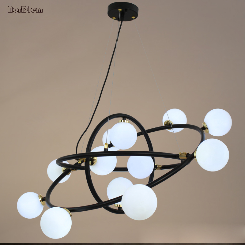 LED Modern 3 rings Pendant Lights Lamp For Living Room Dining room galaxy Pendant Lamp Hanging luminaire led lamp light Fixtures hghomeart children room iron aircraft pendant light led 110v 220v e14 led lamp boy pendant lights for dining room modern hanging