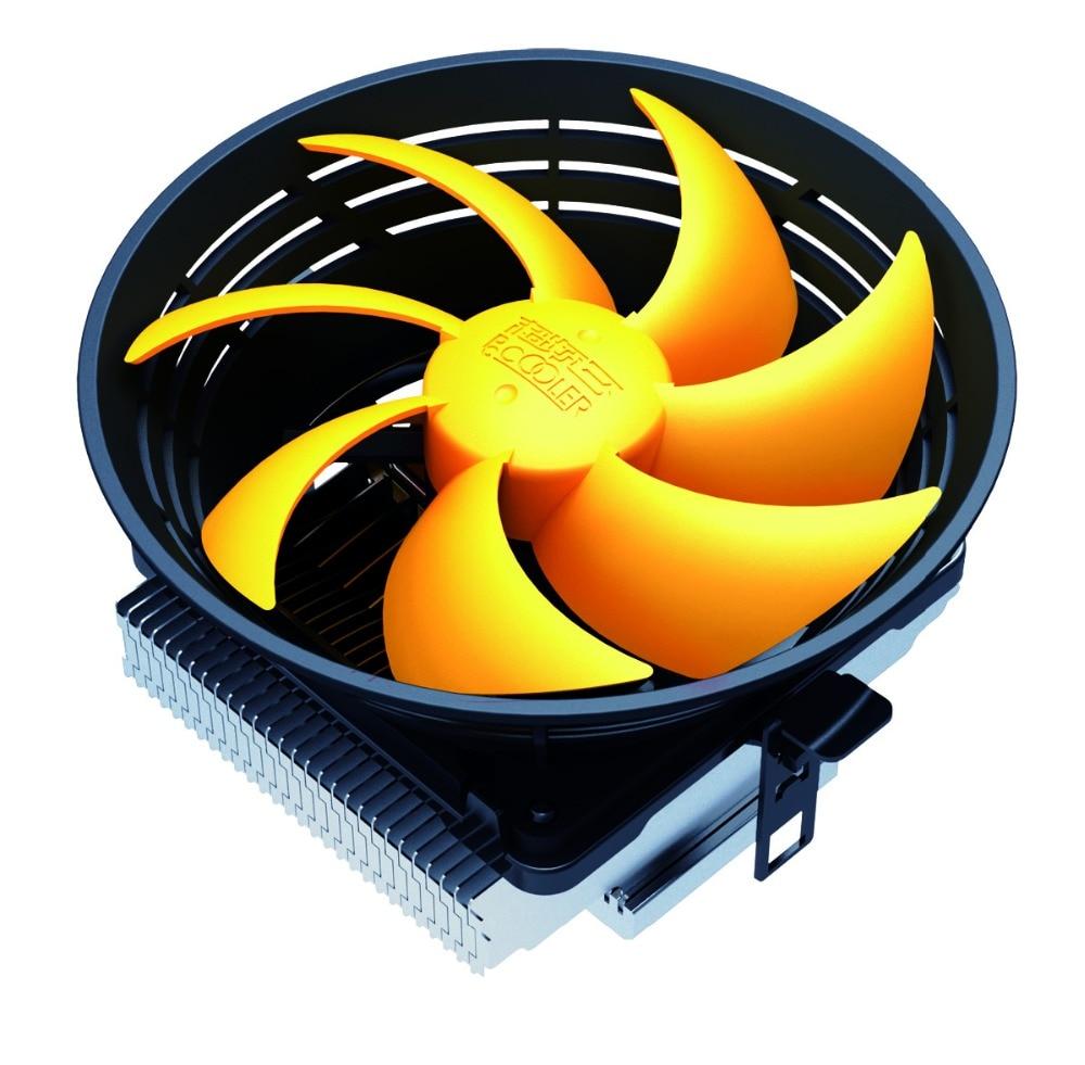 Pccooler Q120 12cm fan for Intel LGA775 1151 1150 1155 1156 for AMD AM2+ AM3+ FM1 FM2 CPU fan cooler cooling radiator silent fan pccooler cpu cooler 2 pure copper heatpipes 9cm quiet fan computer pc cpu cooling radiator fan for amd fm intel 775 1155 1156