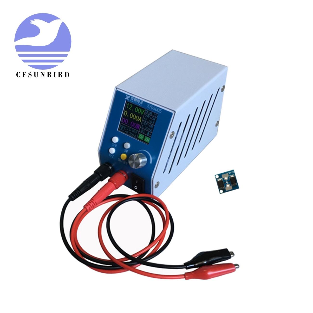 DC DC Adjustable Digital Buck Power Supply 6~55v 5A High Precision 0.01V 0.001A Regulated Voltmeter Ammeter