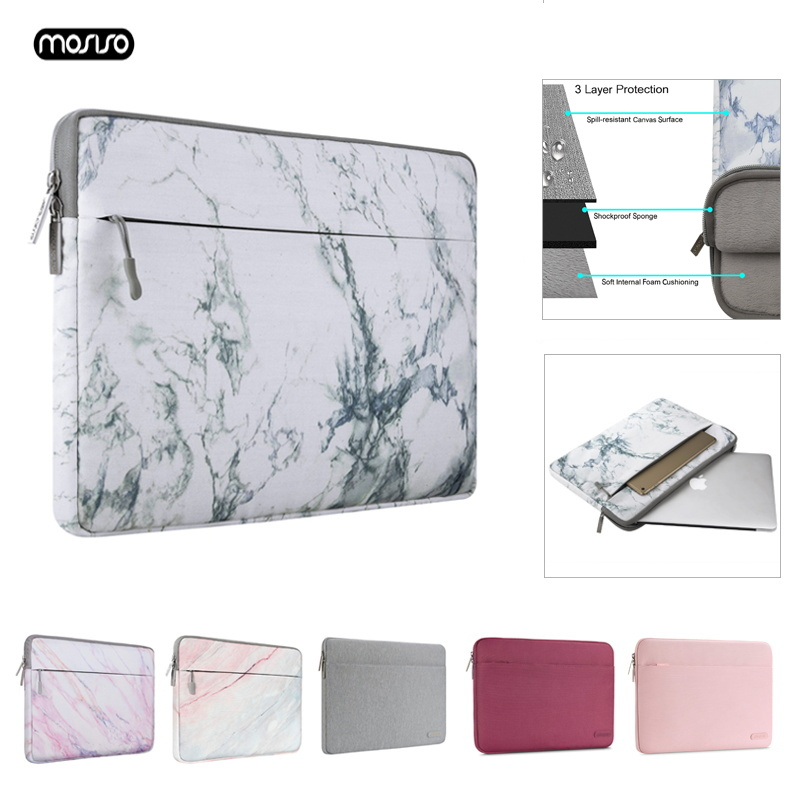 MOSISO 11 12 13.3 14 15.6 polegada Laptop Saco Notebook Saco Luva do portátil para Macbook Pro Ar 13 Caso Tampa Do Laptop para Xiaomi Dell HP Acer