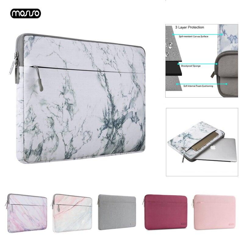 Mosiso 11 12 13.3 14 15.6 polegada luva do portátil saco notebook para macbook pro ar 13 caso capa para portátil xiaomi dell hp acer