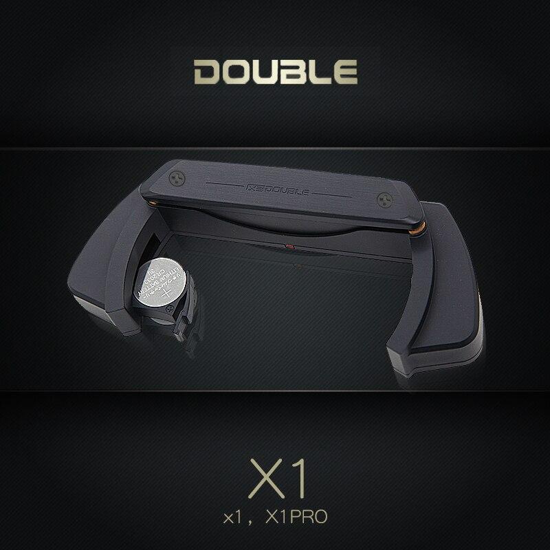DOUBLE X1 Pro guitare acoustique pick-up simple Double micros système de préampli éviter l'ouverture pour 39-42 pouces pick-up accessoires de guitare