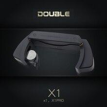 Podwójny X1 Pro Acoustic Guitar Pickup pojedynczy podwójny przetwornik przedwzmacniacz System unikaj otwierania dla 39 42 Cal odebrać akcesoria gitarowe