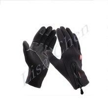 Ski riding gloves fleece outdoor climbing sport climbing waterproof warm winter full finger slip