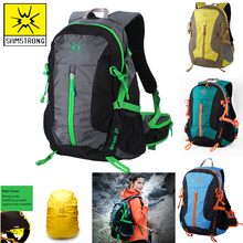 SAMSTRONG 27L Men Women Outdoor Sport Bags Waterproof Travel Hiking Backpack Boy Girl Camping Brand Athletic PC Bag