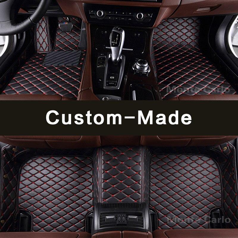 BMW E60 03-10 HEAVY DUTY RUBBER Tailored Car Mats 5 SERIES 2 Clip