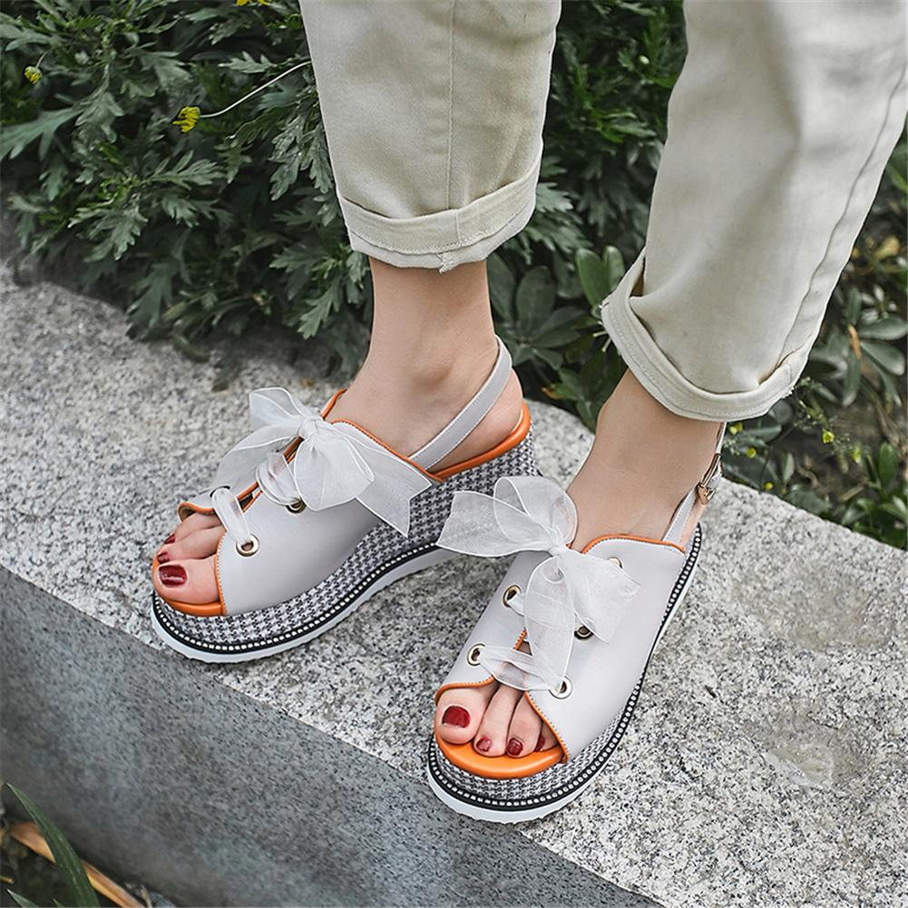 Lapolaka leisure high heels genuine leather shoes Sandals woman Summer platform sandals woman wedges Shoes WomanLapolaka leisure high heels genuine leather shoes Sandals woman Summer platform sandals woman wedges Shoes Woman