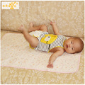 1 pic Waterproof inflatable mattress reusable nappies kids rug inflatable mattress changing pad baby changing mat 50*70 TND16
