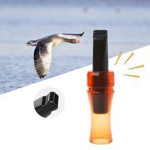 Открытый Охотничий Свисток ворона вызов животное имитирует звук притягивает дикого гуся курица съемка поставка пластиковая приманка утка