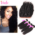 Human Hair With Closure Mongolian Kinky Curly Hair With Closure 8A Kinky Curly Virgin Hair With Closure Afro Kinky Curly Hair