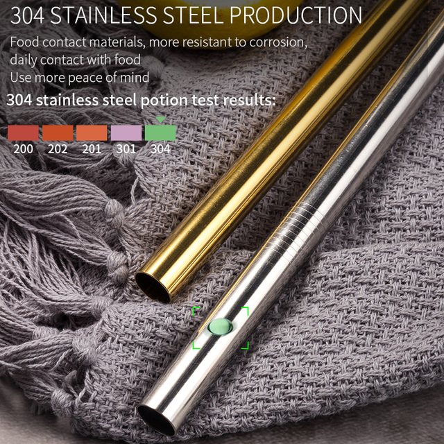 Reusable Stainless Steel Drinking