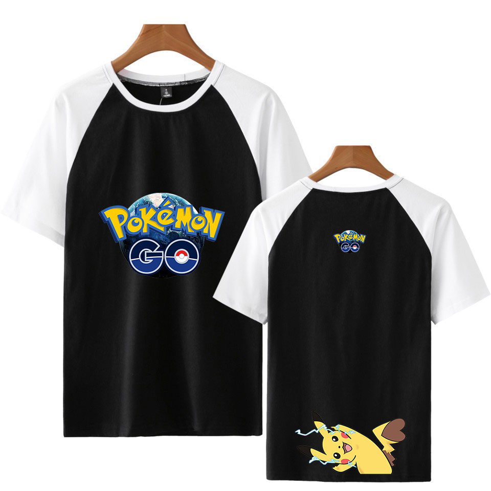leisure-hip-hop-anime-font-b-pokemon-b-font-series-kpop-t-shirt-men-women-short-sleeved-t-shirt-summer-short-sleeved-clothes