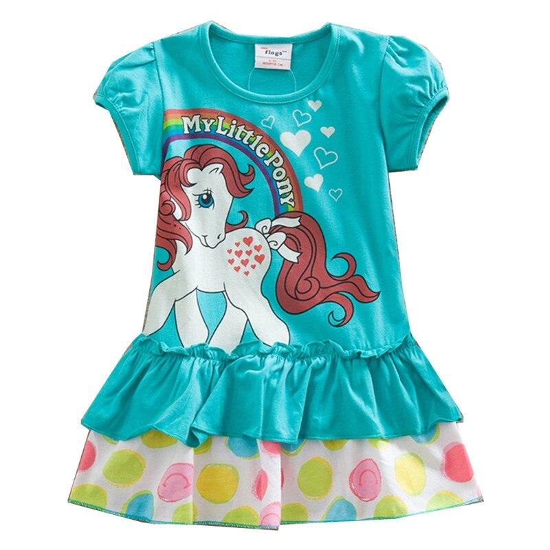 DXTON/милое платье для маленьких девочек; Детская одежда; Детские летние короткие платья с героями мультфильмов для девочек; Детские повседне...