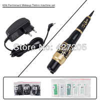 CHUSE Permanent Makeup Eyebrow Rotary Tattoo Machine K04 Microblading Pen Kit EU or US Plugs