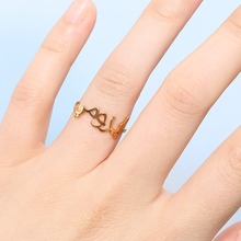 Islamic Ring Custom Arabic Rings For Women Men Anillos Arabe Bague Prenom Personalized Letters Name Ring BFF Jewelry Accessories 925 sterling silver arabic ring personalized custom nameplate thin ring arabic letters name jewlery women fashion