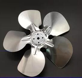 Freezer Parts 5 blades aluminum motor fan blade 300mm qaulity aluminum vacuum cleaner motor fan blade 112mm 8mm hole wind wheel impeller