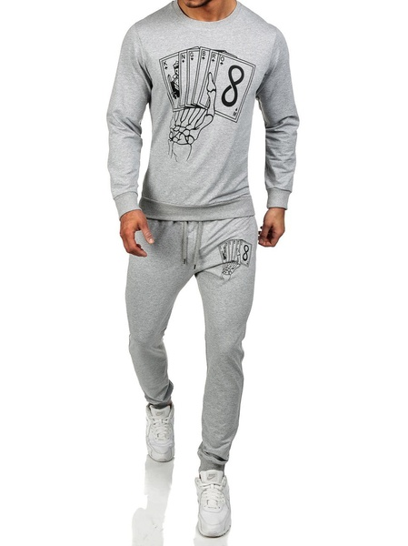 ZOGAA 2019 Hot Sale Tracksuits Men Tracksuit Set Solid Sweat Suit Hoodies Sweatshirt Men Chandal Hombre Casual 2PC Set in Men 39 s Sets from Men 39 s Clothing