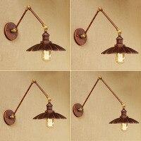 Loft Stil Schaukel Arm Edison Wand Leuchte Nacht Wand Lampe Antike Eisen Vintage Wand Leuchten Für Haus Innen Beleuchtung
